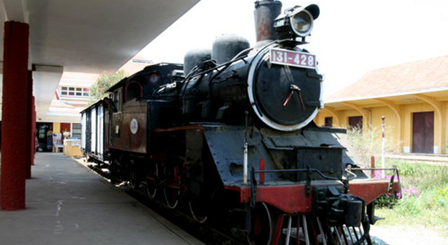 Dalat Bahnhof