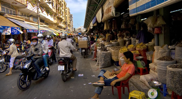 Cholon market