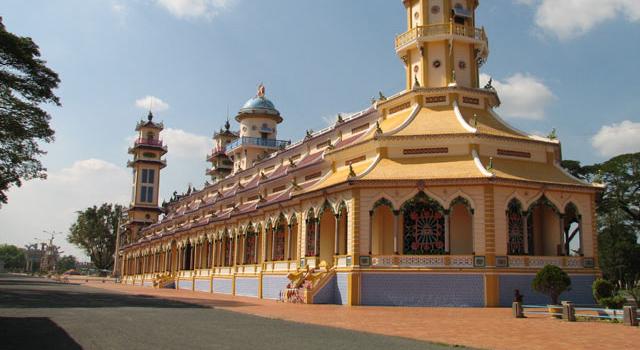 La Cattedrale Sacra di Tay Ninh
