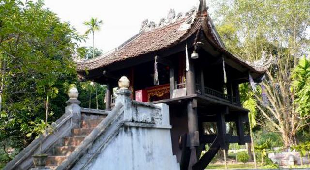 La Pagoda su Un Pilastro