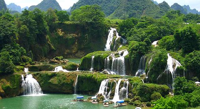 La cascata di Ban Gioc