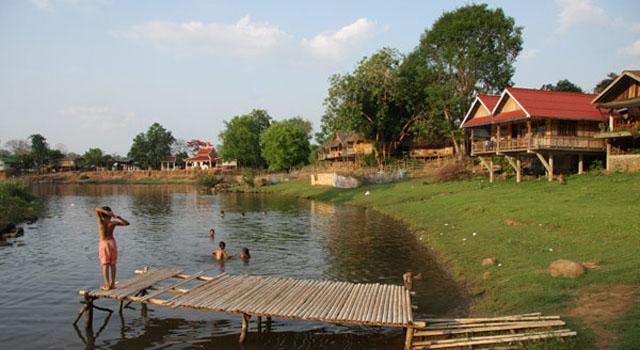 Ban Khone Village