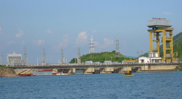 La centrale idroelettrica di Thac Ba