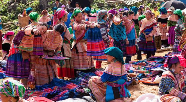 Il Mercato Etnico di Bac Ha