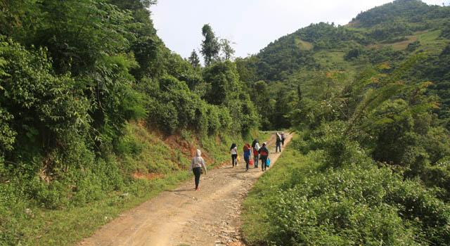 Trekking Bao Lac