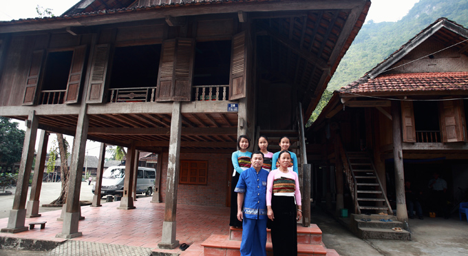 La casa del signore Cuong