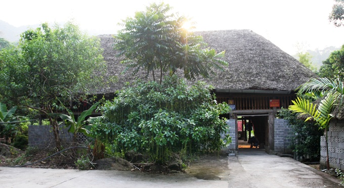 Übernachtung bei Herrn Toi im Stelzenhaus in Ha Thanh