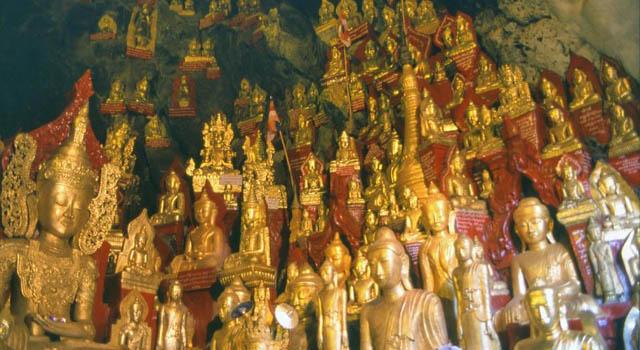 Pindaya e la grotta dei Buddha