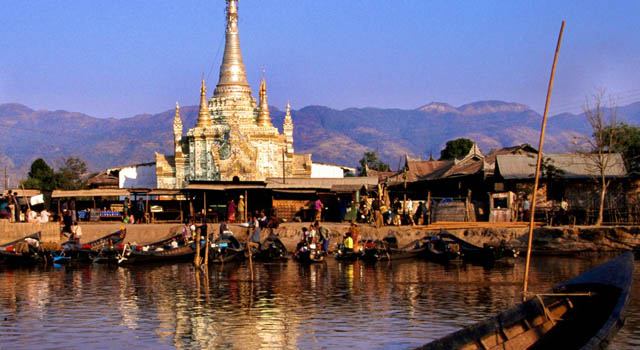 Villaggio Nyaung Shwe