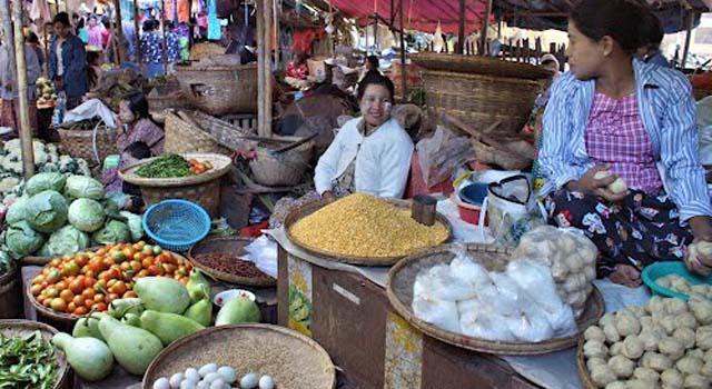 Mercato Nyaung Oo (Nyaung U)