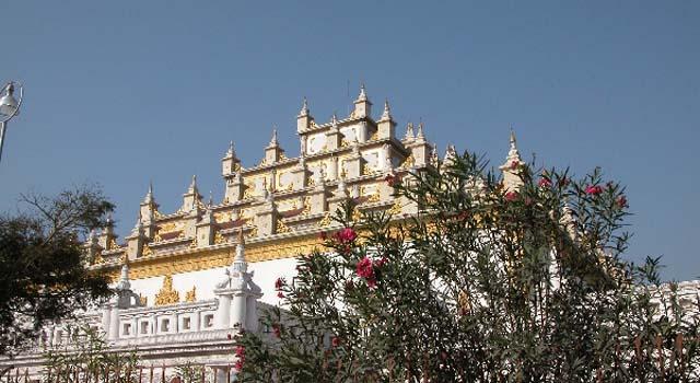 I resti di Kyaung Atumashi