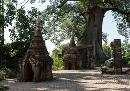 The surroundings of Mandalay