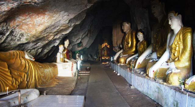 Le grotte di Khayon
