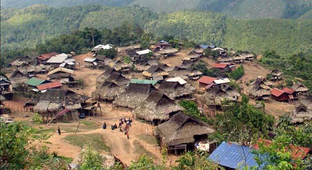 Trekking in the villages
