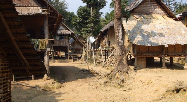 Huay Bo village