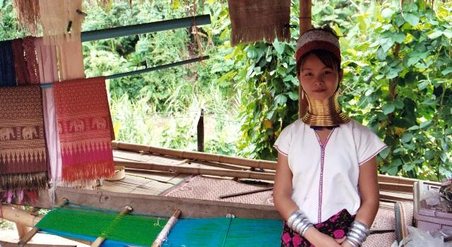 Giraffe Women village