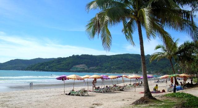 La spiaggia di Patong