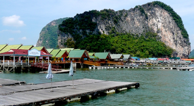 Panyee floating village
