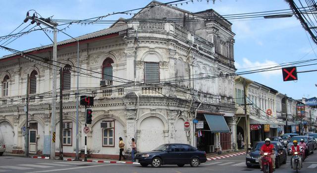 Il quartiere vecchio di Phuket
