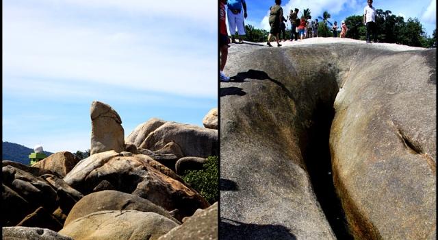 La roccia di Nonno e Nonna