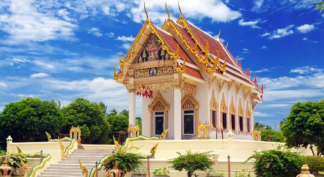 Wat Kunaram Koh Samui