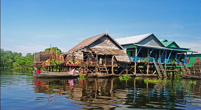 Una Gita in Barca a Tonle Sap