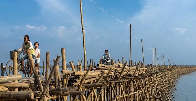 L'isola di Koh Pen e Ponte di Bambù