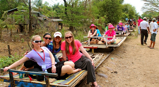 Treno di Bambù