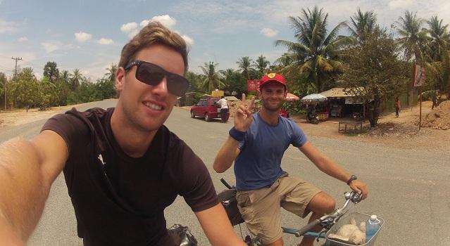Escusione sul bicicletta all'intorno di Kampot