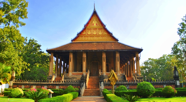 Haw Pha Kaw royal temple