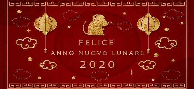 Felice nuovo anno lunare 2020