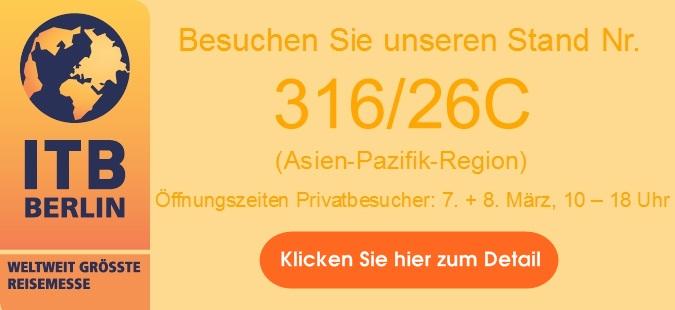 Asiatica Kundentag bei der ITB Berlin 2015
