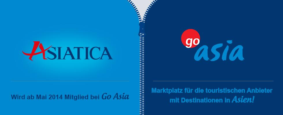 Asiatica Travel wird ab Mai 2014 Mitglied bei GoAsia