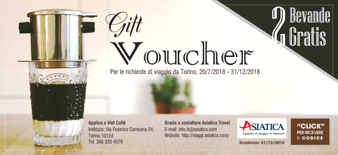 Voucher Viet Coffè
