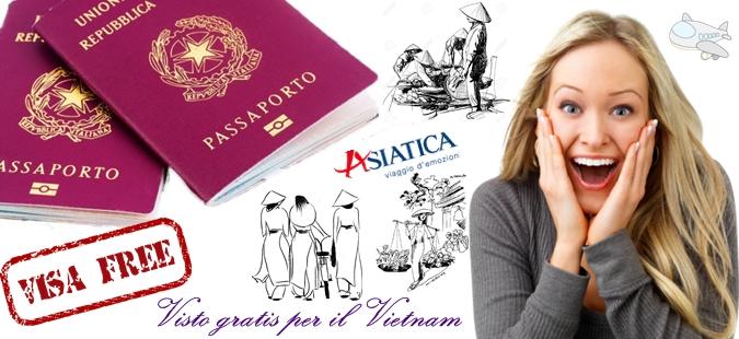 Esenzione del visto Vietnam per 5 paesi europei