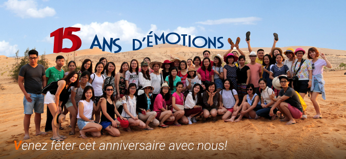 15 ans d'Asiatica Travel
