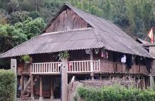La casa di Signor Don a Mu Cang Chai