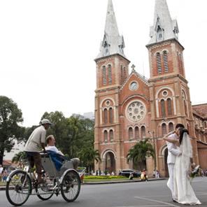 Découverte de Sai Gon en cyclo-pousse