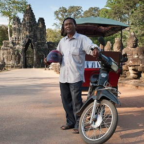 Tuk Tuk Tour in Siem Reap
