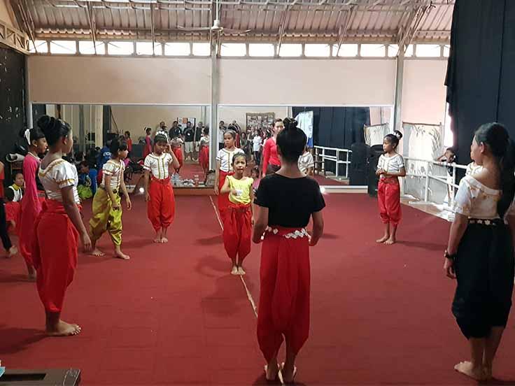 Circo di Phare a Battambang