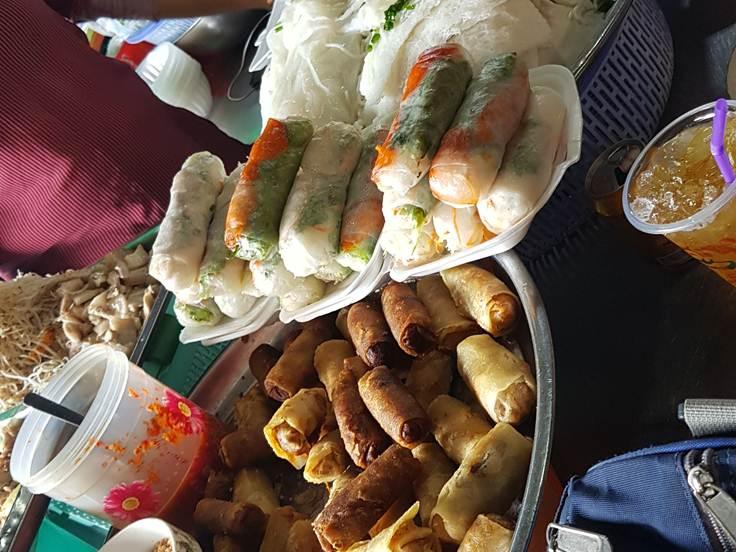 Dessert locali al vecchio mercato