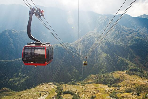 Fansipan Mount Cable Car