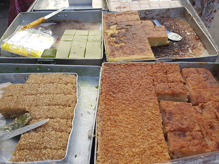 Local Desserts at Old Market