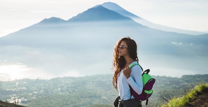 trekking in Monte Batur