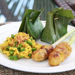 Lezione di cucina con una famiglia balinese