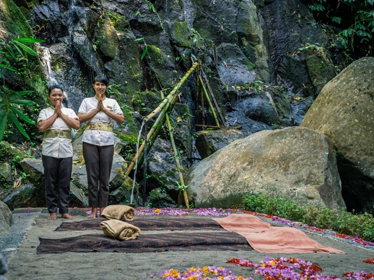 The Art Of Balinese Massage On The Banks Of A Healing River