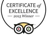 """Asiatica Travel premiato """"CERTIFICATO DI ECCELLENZA"""" 2015 di TripAdvisor"""