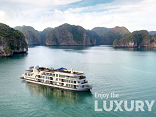 Launching ceremony of 5 stars cruise in Halong Bay