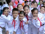 Inizio anno nuovo scolastico 2014-2015 nel Vietnam