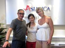 Asiatica Travel Recensioni - Testimonianze di Signora. Ingrid Nardili